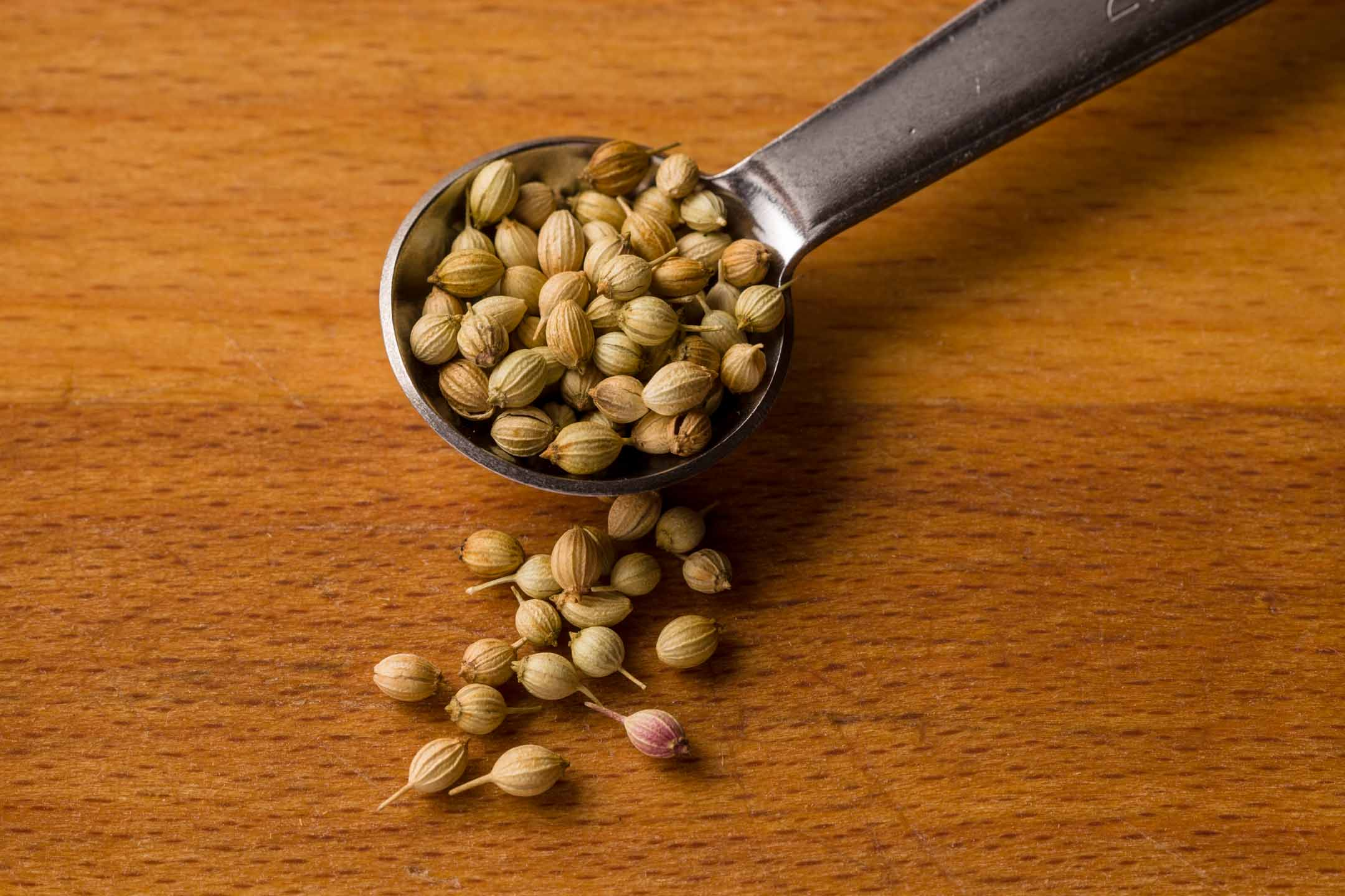 Adding coriander seed will make things souper interesting