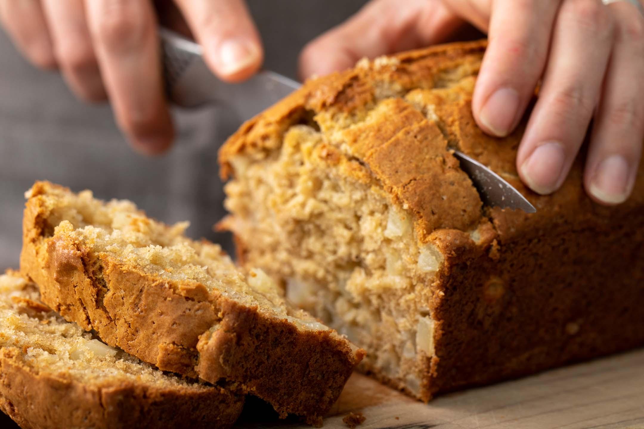 The greatest thing since sliced bread? Sliced Pear Tea Cake.